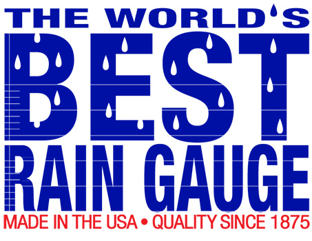 Tru-Chek Rain Gauge: The World's BEST rain gauge  Made in the USA.  Quality since 1875.